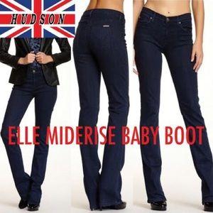 Hudson Jeans Elle Midrise Baby Boot